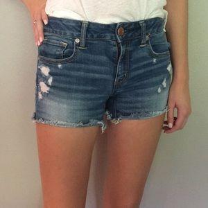 American Eagle size 4 midi Jean shorts